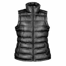 Womens Quilted Padded Bodywarmer Gilet Gillet Sleeveless Coat Jacket Puffer Down