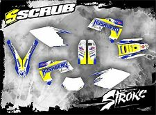 SCRUB Husaberg graphics decals kit FE 450 550 650 2006-2008 stickers '06-'08