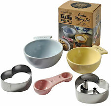 Mason Cash Baking Made Easy Cookies Baking Set Cookie Cutters Children Baking