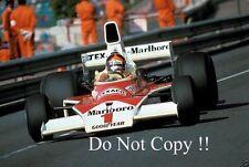 Emerson Fittipaldi McLaren M23 Monaco Grand Prix 1975 Photograph 1