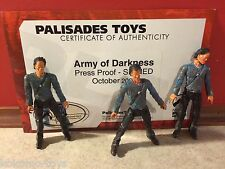 Prototype Test Shot Palisades Army of Darkness Suncoast Evil Ash w/ COA #X203