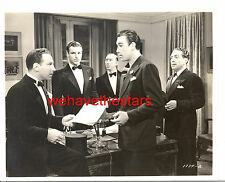 Vintage Buster Crabbe Anthony Quinn HANDSOME '38 HUNTED MEN Publicity Portrait
