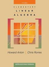 Elementary Linear Algebra with Supplemental Applications 11th Int'l Edition
