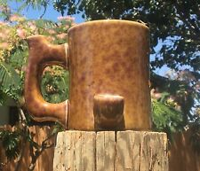 NEW Happy Mugs Wake n bake Pipe Coffee mug  Honey Haze