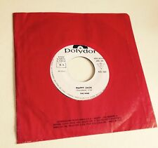 "RARE 7"" PROMO WHITE LABEL JUKE BOX THE WHO HAPPY JACK 1966 POLYDOR AS 001 ITALY"