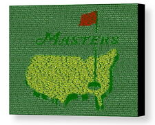 PGA Golf The Masters Winners List WOW Mosaic Framed Print Limited Edition w/COA