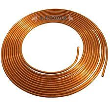 Tuyau frein tube cuivre & conduites d'embrayage hydraulique de 7,62 m bobine