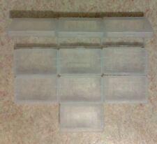 10 Boîtiers de protection Game Boy Advance GBA - boîte rangement étui plastique
