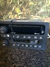 02-03 CHEVY Trailblazer BOSE 6 Disc CD Changer Radio Cassette Player 15195518