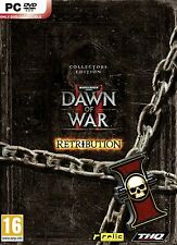 WARHAMMER DAWN OF WAR II 2 RETRIBUTION COLLECTOR'S EDITION PC BRAND NEW-SEALED