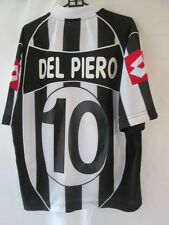 Juventus 2002-2003 Del Piero 10 Home Football Shirt Large  /34775