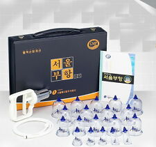 Seoul Cupping Set Massage 19 Cups Relief functional cup Pain Vacuum Therapy