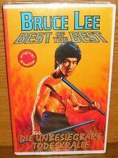 VHS Bruce Lee Unbesiegbare Todeskralle 2075 / neu noch in Folie verschweißt