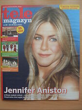 JENNIFER ANISTON  on front cover TELE MAGAZYN 28/2015