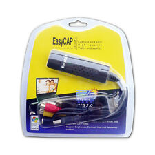 Scheda di Acquisizione Video Easycap USB 2.0 DC60 Audio TV PC da VHS a DVD HD