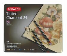Derwent Tinted Charcoal 24 Tin