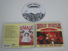 SHAKIN´ APOSTLES/TOO HOT FOR SNAKES(BLUE ROSE RECORDS BLU CD0127) CD ALBUM