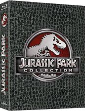 JURASSIC PARK COLLECTION (3 Blu-ray Discs) Dino-Skin-Edition NEU+OVP