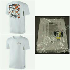 Nike SB Shoebox T-shirt Size Small White Tee Orange Silver Box 871927-100