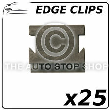 Elementi di fissaggio Clip bordo spessore 6,7 A 8,1 mm (tutti i veicoli) parte 1185 confezione da 25