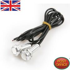 2x DC 12V 3W LED DRL Eagle Eye Car Motorcycle Daytime Running Tail Backup Light