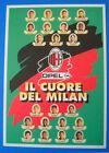 CARTOLINA UFFICIALE CALCIO - IL CUORE DEL MILAN 1996/97 - MILAN-ATALANTA