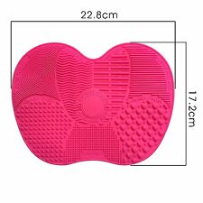 NEW Cleaners Pad Cleaning Glove MakeUp Washing Brush Scrubber Board Brush Mat