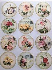 1 Din A4 Bogen Rosen  U Potchvorlagen zum potchen / übertrage auf Holz, Stoff