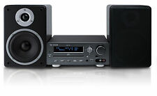 X4-TECH Kompaktanlage MS-120 mit 2 Lautsprechern MP3 CD USB Bluetooth RDS Neu