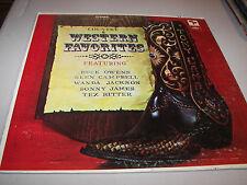 Country & Western Favorites Various LP NM Capital SL-6555
