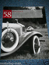 Brooks auction catalogue 1996 No58 olympia london rolls royce silver dawn wraith