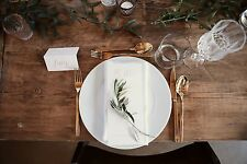 Gold Cutlery 30 piece set - perfect for weddings!