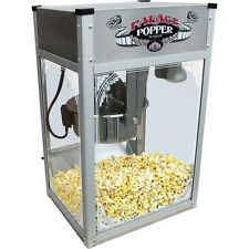 Commercial Popcorn Machine w/ 8 oz. Stainless Steel Kettle Popper Maker ~ 120V