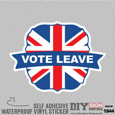 Eu Vote Leave Europe Self Adhesive Vinyl Sticker Decal Window Car Van Bike