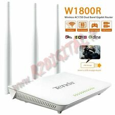ACCES POINT TENDA DUAL BAND ROUTER USB WIRELESS N300 PRINT SERVER HARD DISK 4K