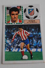 Cromo Liga 83-84. Quique. At. Madrid. Ediciones Este. Despegado
