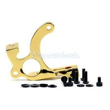 Cast Iron Tattoo Machine Frame Liner Shader Coils Gun Grommets Supply Gold Tone