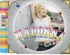MAXI CD 3T MADONNA WHAT IT FEELS LIKE FOR A GIRL