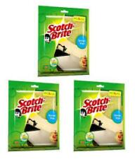 New Scotch Brite Sponge Wipe (Large Pack of 3) Free Shipping