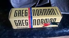 Sleeve of 3 NOS Greg Norman Dunlop Vintage Long Distance 2-Piece Golf Balls RARE