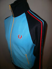"""Fred Perry Full Zip Track Jacket Laurel Wreath Size S  """"Excellent"""""""