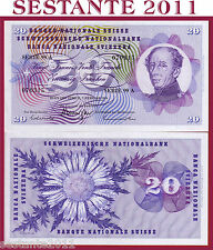 SWITZERLAND / SVIZZERA - 20 FRANKEN 7.2. 1974 sign. 45   - P 46v  - FDS / UNC