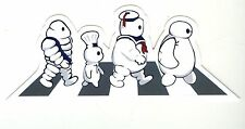 The Beatles Marshmallow michelin Man Ghostbusters suitcase decal luggage sticker