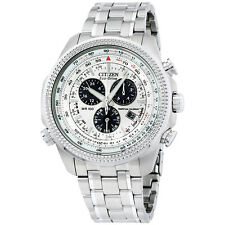 Citizen Men's BL5400-52A EcoDrive Stainless Steel Sport Watch with Link Bracelet