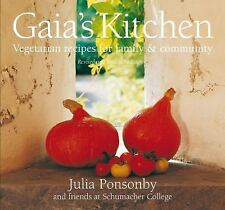 Gaia's Kitchen: Vegetarian Recipes for Family and Community-ExLibrary