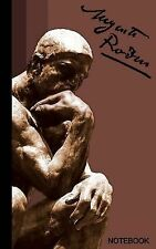 Signature Ser.: Auguste Rodin Notebook : The Thinker ( Journal / Cuaderno /...