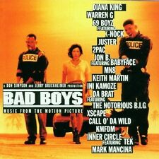 Bad boys - DIANA KING 2PAC  WARREN G - CD OST 1995 NEAR MINT CONDITION