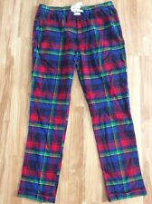 MENS ABERCROMBIE & FITCH Pajama Lounge Pants Plaid Flannel LARGE Sleepwear NEW