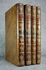 DEMOUSTIER. LETTRES A ÉMILIE SUR LA MYTHOLOGIE. 1792-1799. 4 VOLUMES.