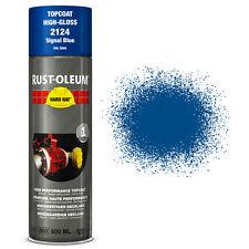 x6 Industriel Rust-Oleum Signal Bleu Peinture En Aérosol Solide Chapeau 500ml